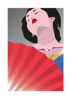 geisha effetto puntini