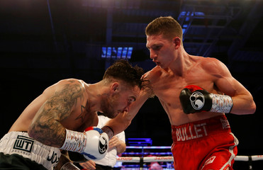 Sam Bowen v Jordan McCorry - British Super-Featherweight Title