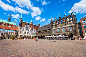 Town Hall Rathaus in Lubeck