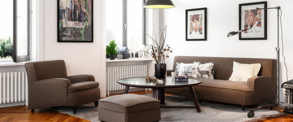 Retro Style Apartment in Panoramic View