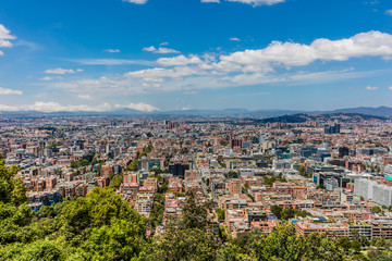 Fototapete - Bogota Skyline cityscape in Bogota capital city of Colombia South America