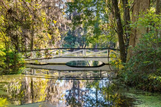 White Bridge over South Carolina Lake