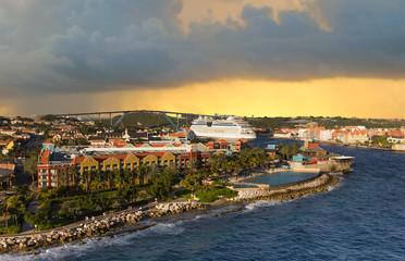 Wall Mural -  Curacao island, West Indies, Dutch Caribbean