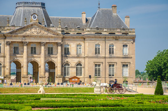 Gardens of Luneville's Castle, France