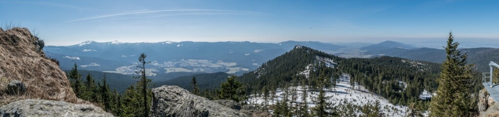 Bayerischer Wald - Panorama