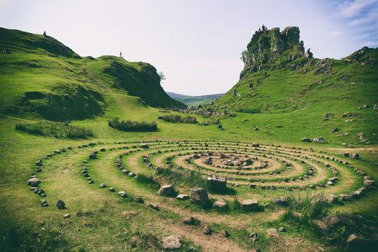 Fairy Glen, Isle of Skye, Scotland.