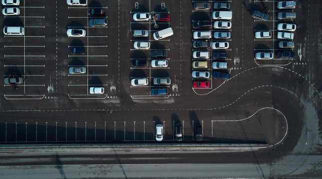 air view of the Parking