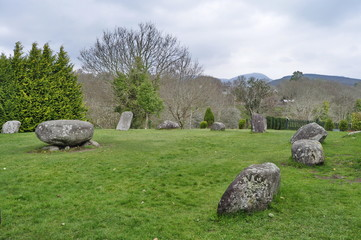 Stone Circle in Kenmare, Ireland