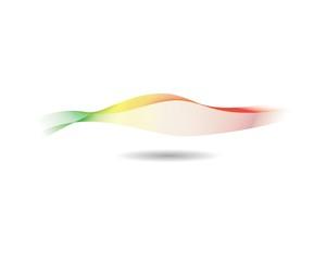 Wave line illustration