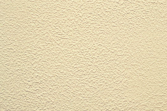 Decorative plaster. Plastering of walls decorative mineral plaster with a spatula.