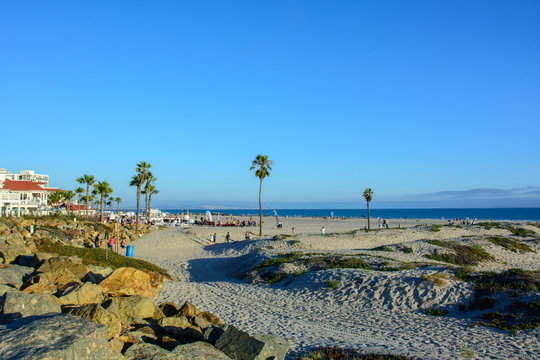 Coronado beach in San Diego California