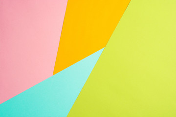 texture background of fashionable pastel color with top view, minimal concept, flat lay: blue,...