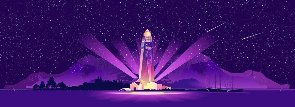 Lighthouse hope sailor