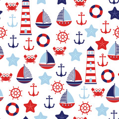 nautical baby marine pattern