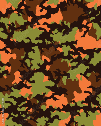photo relating to Camo Printable Paper referred to as Camouflage habit.Seamless military wallpaper.Armed service layout