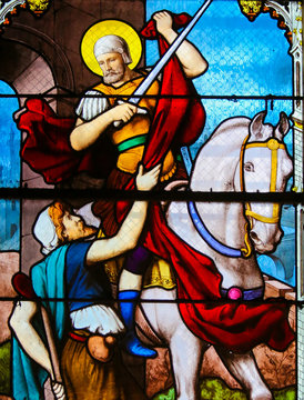 Stained Glass in Paris - St Martin of Tours