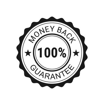 Money back guarantee. Vector illustration