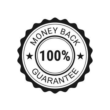 Money back guarantee. Vector illustration
