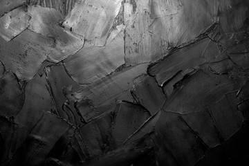 Keuken foto achterwand Texturen Palette knife impasto macro closeup oil painting fragment.