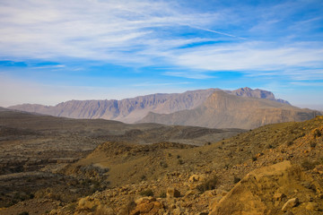 Oman's Bergwelt (Jebel Sharms)