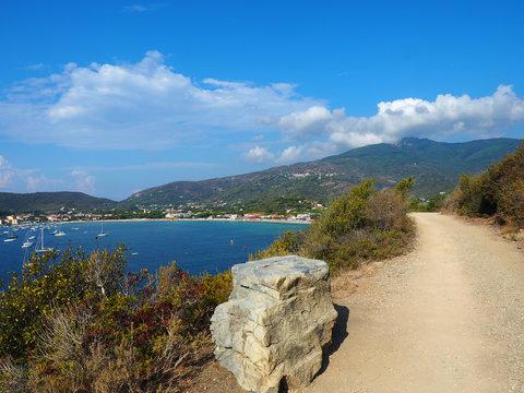 Küstenwanderung auf Elba