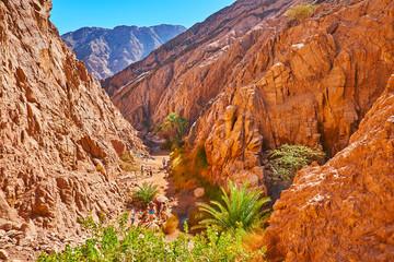 Fotobehang Canyon Small Colored canyon, Sinai, Egypt