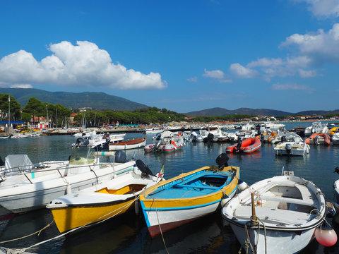 Elba - Hafen in Marina di Campo