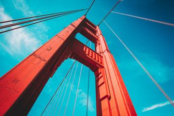 Wall Mural - Golden Gate Bridge, San Francisco, USA