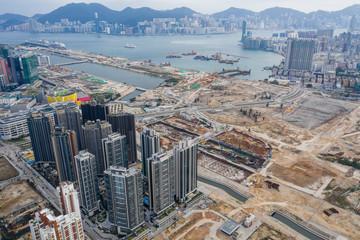 Wall Mural - Hong Kong kai tak development district