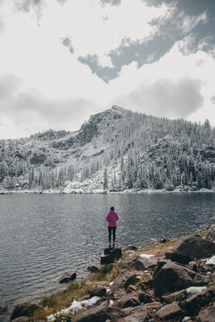 Louie Lake in the Winter