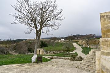 Naryn-kala yard part