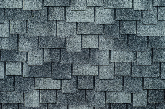 Close-up of roof tiles texture