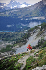 Backpacking Glacier Peak Wilderness