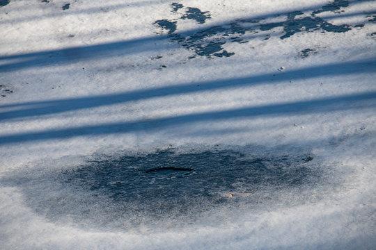 DSC1042D850 Ice on pond