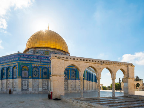 Dome of the Rock on Temple Mount, Jerusalem, Israel