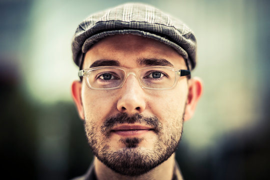 Portrait of a German man