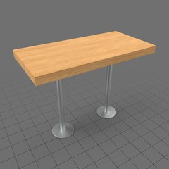 Double bar table
