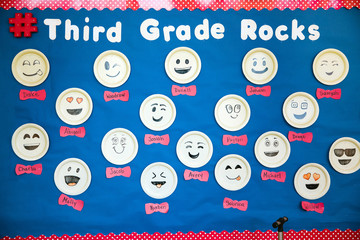 Elementary School Bulletin Board Third Grade