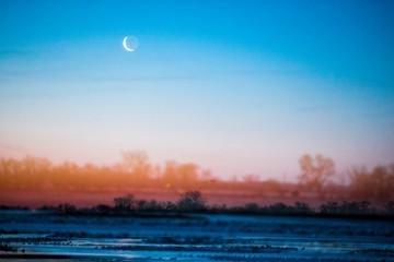 Platte River, Kearney, Nebraska, USA