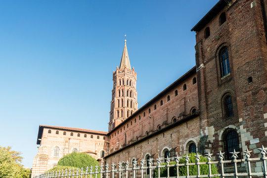 Basilique Saint-Sernin de Toulouse, Toulouse, Occitanie, France