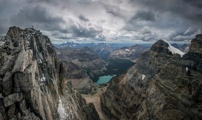 Lake O'Hara and Canadian Rockies, Yoho National Park, Alberta, Canada