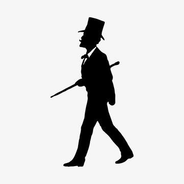 Gentleman with a top hat