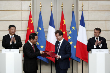 Chinese President Xi Jinping in Paris
