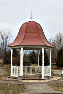 Red Top Gazebo