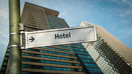 Schild 358 - Hotel