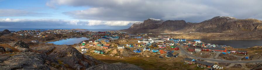 Sisimiut Beginn des Arctic Circle Trail