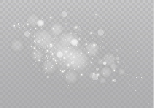 Sparkling magical dust