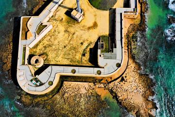 Cadiz aus der Luft - Luftbilder von Cadiz in Spanien. Aufgenommen mit der DJI Mavic 2 Drohne