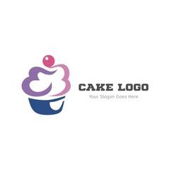Cupcake logo icon