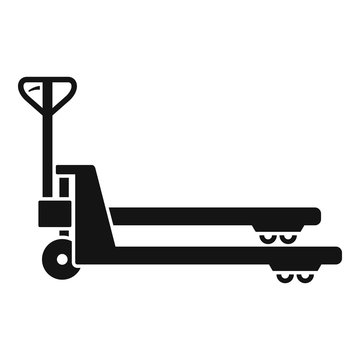 Lift cart icon. Simple illustration of lift cart vector icon for web design isolated on white background